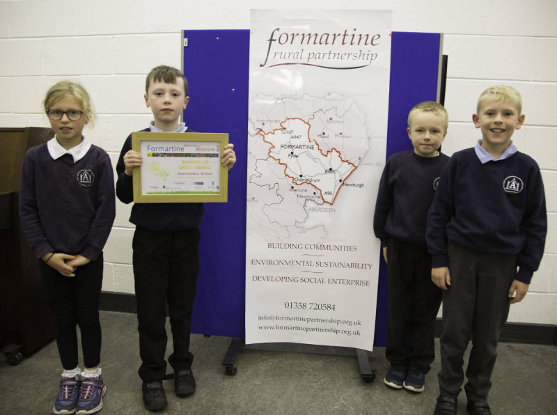 Gold award runner up - Auchterless School