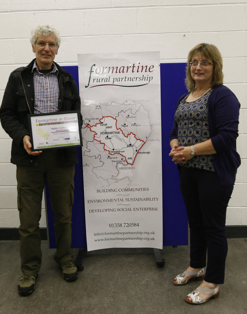 Small community highly commended - Auchterless