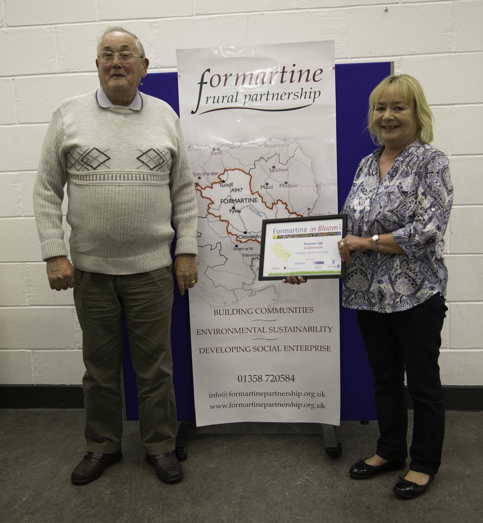 Small community runner up - Collieston