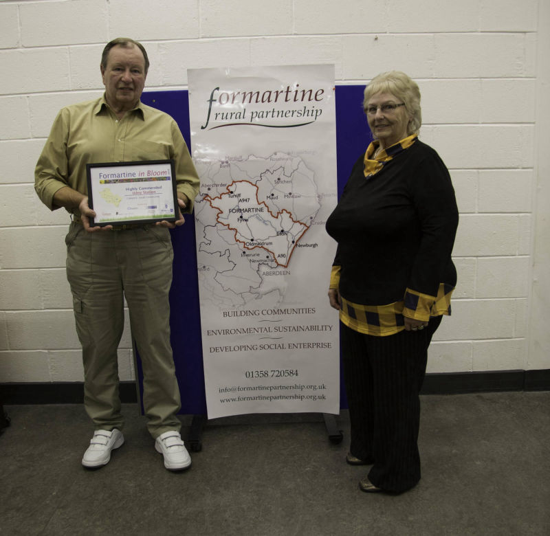 Small community highly commended - Udny Station